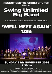 Swing Unlimited Big Band, Remembrance, SUBB